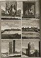 Pilastre d'un portique -Niece de Fenêtre - Prospect de l'édifice par derriere - Restes de l'escalier - Pilastre - Pila - Bruyn Cornelis De - 1725.jpg