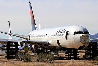 Pinal Airpark - Commercial Aircraft Salvage, Marana Arizona