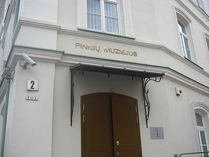 Kaip pateikti į Pinigų Muziejus viešuoju transportu - Apie vietovę