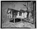 Pisgah National Forest Inn, Chinquapin Cabin, Blue Ridge Parkway Milepost 408.6, Asheville, Buncombe County, NC HABS NC-356-E-2.tif