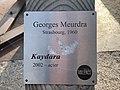 Plaque de la statue Kaydara sur le Champ-de-Mars à Valence (Drôme).jpg