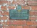 Plaque on Little Horwood Hall - geograph.org.uk - 791296.jpg