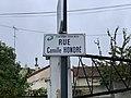 Plaque rue Camille Honoré Fontenay Bois 1.jpg
