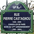 Plaque rue Castagnou Paris 1.jpg