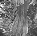 Plateau Glacier, fragmenting tip of glacier in glacial lake, September 17, 1966 (GLACIERS 5783).jpg