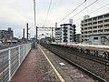 Platform of Kyusandai-mae Station 10.jpg