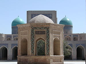 Demographics of Uzbekistan - Mosque in Bukhara