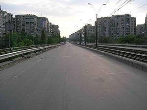 Podul Grant - Podul Grant, as seen from Crângaşi toward Ion Mihalache Blvd.