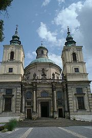 St. Joseph's Church in Klimontów (1643)