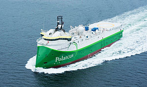 Polarcus - Polarcus Amani Seismic research Vessel