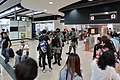 Police force inside Shatin Station 20191103.jpg