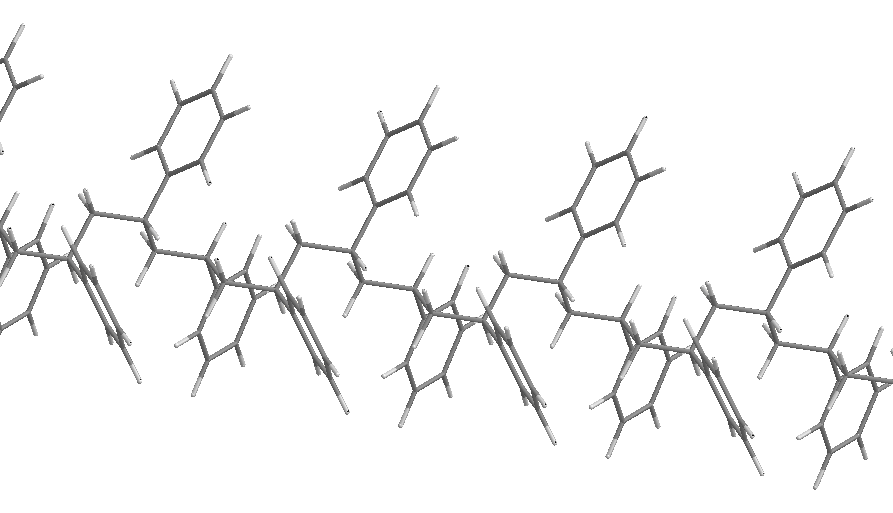 Polystyrene stick trp