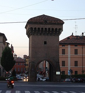 building in Bologna, Italy