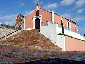 Porta Coeli Church, the most recognized landmark of San Germán.