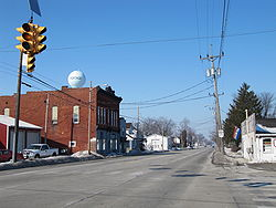 Portage, Ohio is bisected by State Route 25, sometimes known as South Dixie Highway.