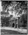 Porter's Lodge, southeast side - College of Charleston, 66 George Street, Charleston, Charleston County, SC HABS SC,10-CHAR,151-4.tif