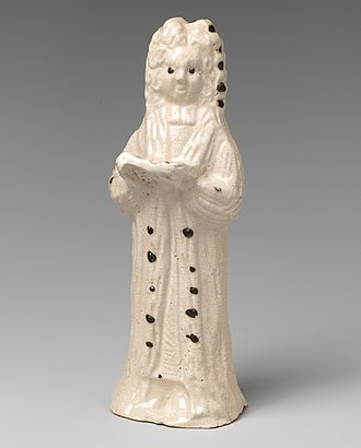 Henry Sacheverell - Figure in Staffordshire pottery, c. 1745, a sign of his lasting popularity.