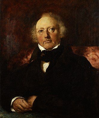 James Atkinson (surgeon) - James Atkinson, 1832 portrait by William Etty