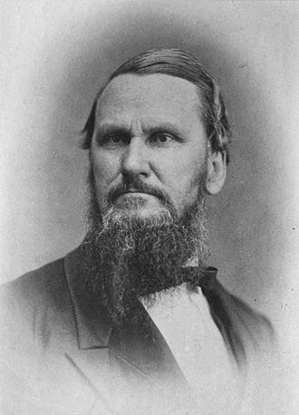 18th Virginia Infantry - Image: Portrait of Robert Lewis Dabney