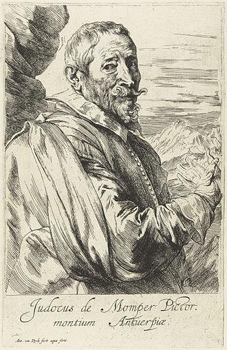 Joos de Momper - Portrait of Joos de Momper c. 1632-1641, by Anthony van Dyck.