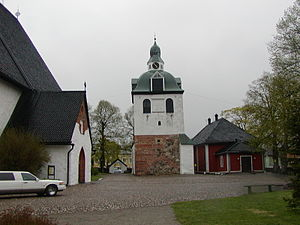 Porvoo Cathedral - The separate belltower