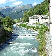 Il fiume Poschiavino