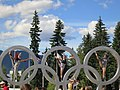 Posing in the Olympic Rings (9368460490).jpg