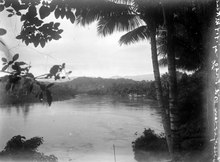 The Poso Revier, at Poso, May 1919. Photo: Walter Kaudern.