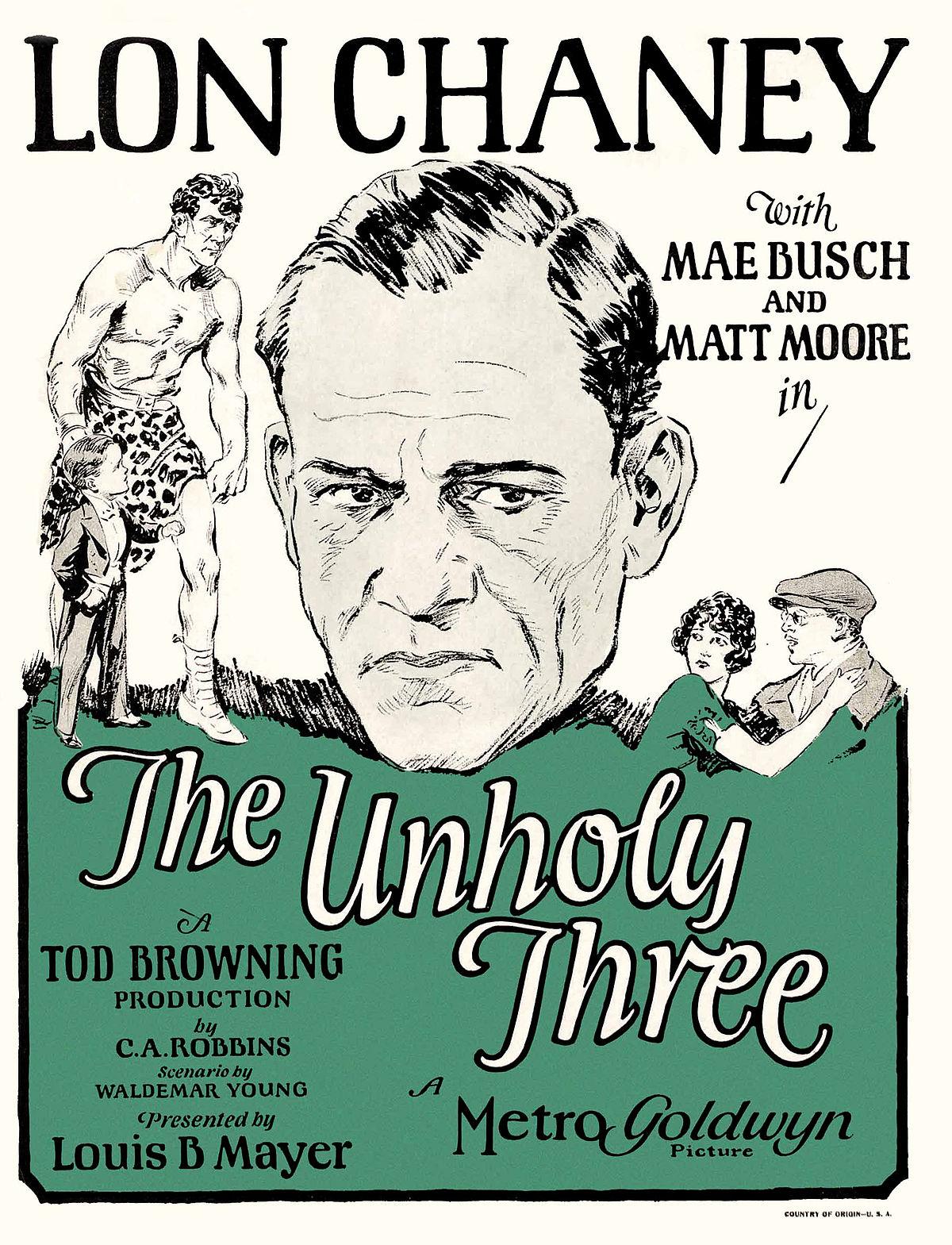 The Unholy Three (1925 film) - Wikipedia