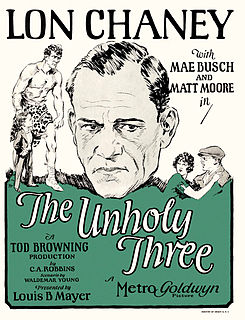 <i>The Unholy Three</i> (1925 film) 1925 film