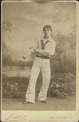Courtice Pounds - As Richard in Ruddygore (New York, 1887)