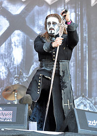 Powerwolf, Attila Dorn at Wacken Open Air 2013 04.jpg
