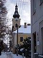 Prašingerova a kostel svatého Antonína Poustevníka.jpg