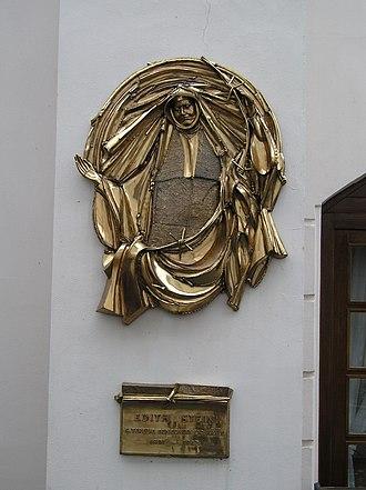 Edith Stein - Image: Praha edith stein