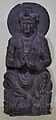 Preaching Bodhisattva - Schist - Kushana Period Circa 2nd Century AD - Gandhara - National Museum - New Delhi - Indian Buddhist Art - Exhibition - Indian Museum - Kolkata 2012-12-21 2231.JPG