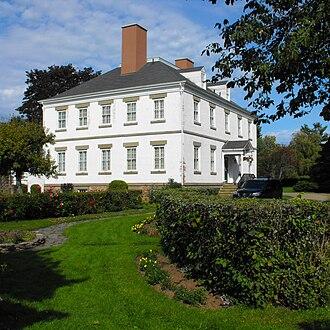 Starr's Point, Nova Scotia - Stately Prescott House at Starr's Point (c.1811)