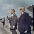 President John F. Kennedy Arrives at Wahn Airport in Bonn, Germany JFKWHP-KN-C29230.jpg