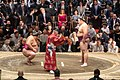 President Trump and First Lady Melania Attend a Sumo Tournament (47958715816).jpg