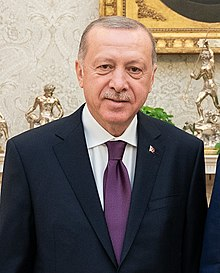 President Trump and the First Lady Visit with the President of Turkey and Mrs. Emine Erdogan (49061622292) (cropped).jpg