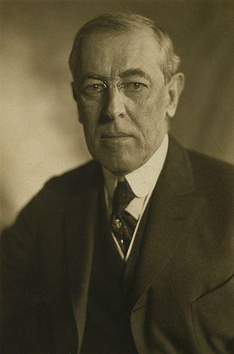 Woodrow Wilson - Image: President Wilson 1919