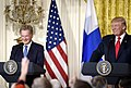 President of the United States Donald Trump & President of Finland Sauli Niinistö Joint Press Conference, August 28, 2017.jpg