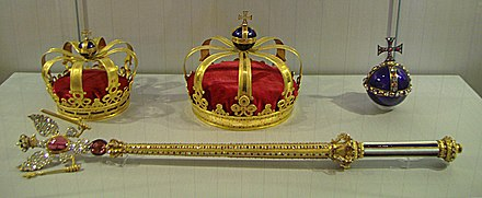 The Prussian Crown Jewels, Charlottenburg Palace, Berlin Preussische-Kroninsignien.JPG