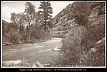 Price River and Canon, Utah. R.G.W.Ry. (Rio Grande Western Railway) C.R. Savage, Photo..jpg