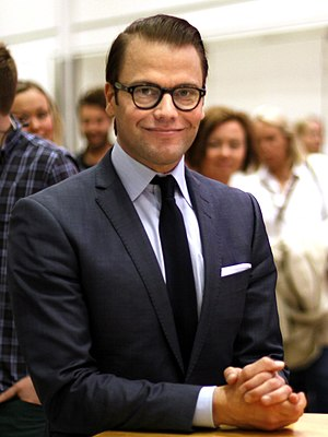Prince Daniel, Duke of Västergötland - Prince Daniel in May 2013