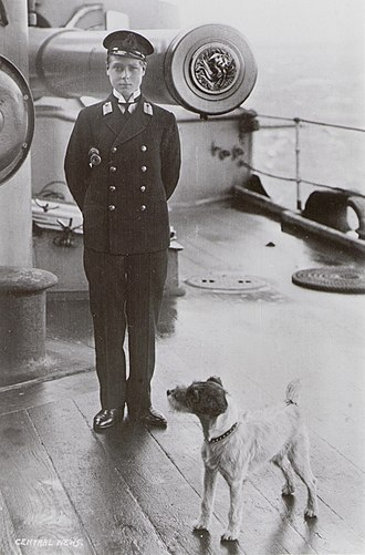 Edward VIII - Edward as a midshipman on board HMS Hindustan, 1910