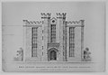 Proposal for Raising by 15 feet, Alumni Hall, Yale College, New Haven (elevation of facade) MET MM6353.jpg