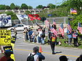Protesters and counter-protesters 3, May 23, 2007.jpg