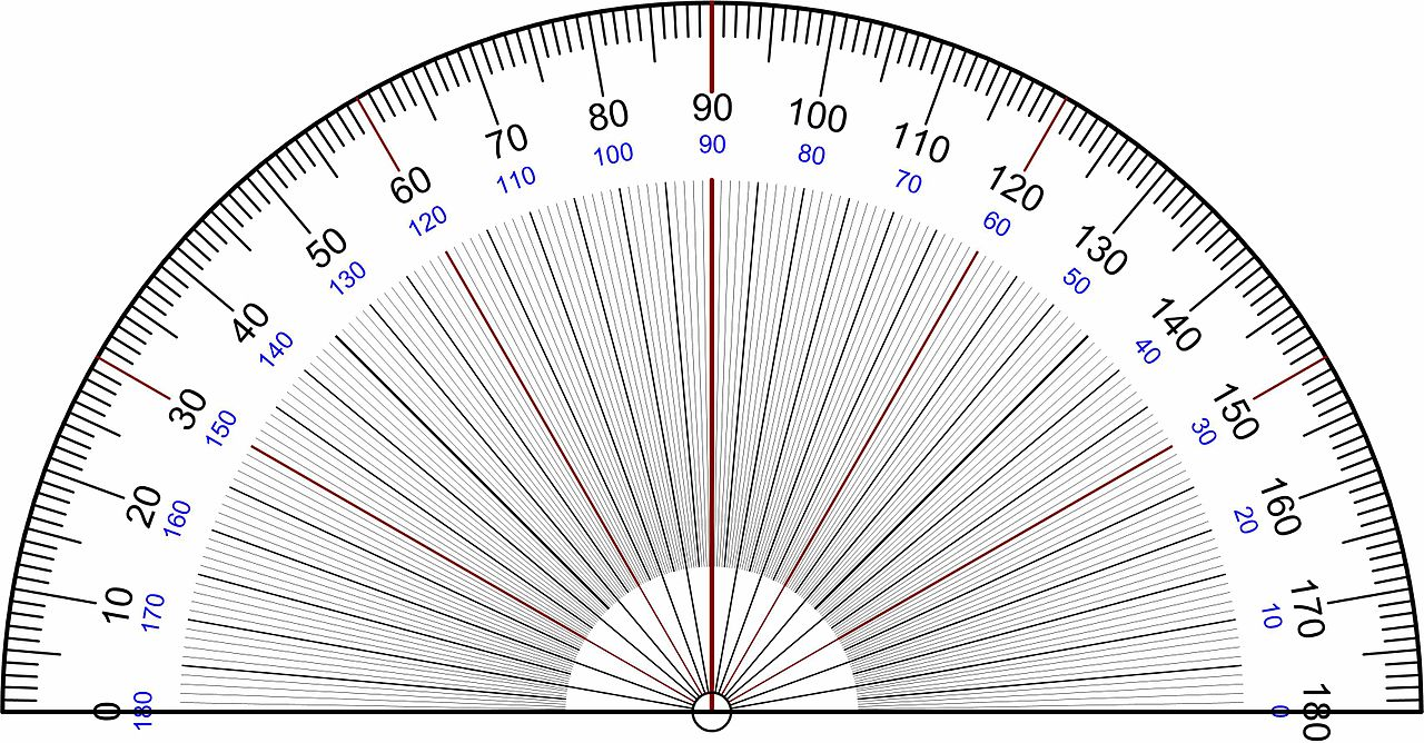 file protractor rapporteur degrees wikimedia commons
