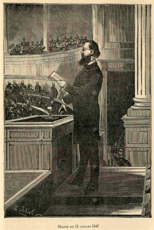 The Poverty of Philosophy - Proudhon addressing the French Assembly in July 1848.