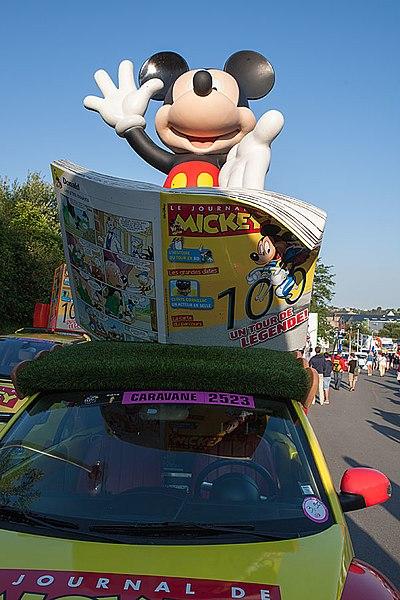 Mickey on Tour